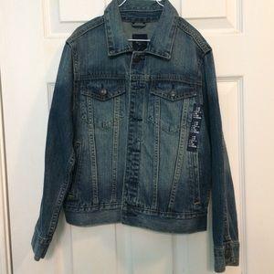NWT Boy's GapKids denim jacket